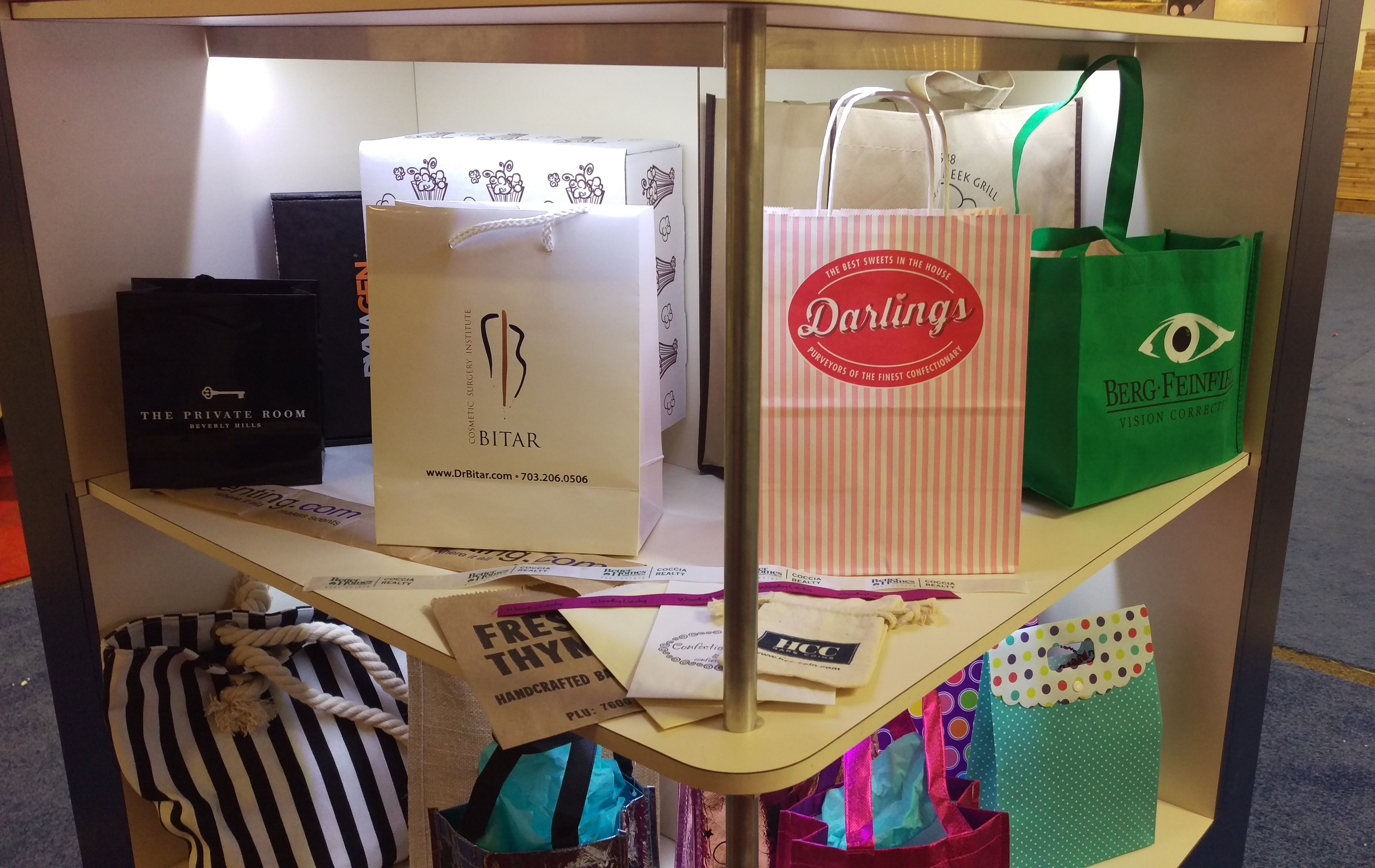 Adorable Paper Mart bags at the Atlanta International Gift & Home ...