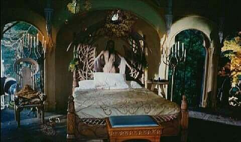 The Guest Bedroom In Rivendell Middle Earth Bedroom