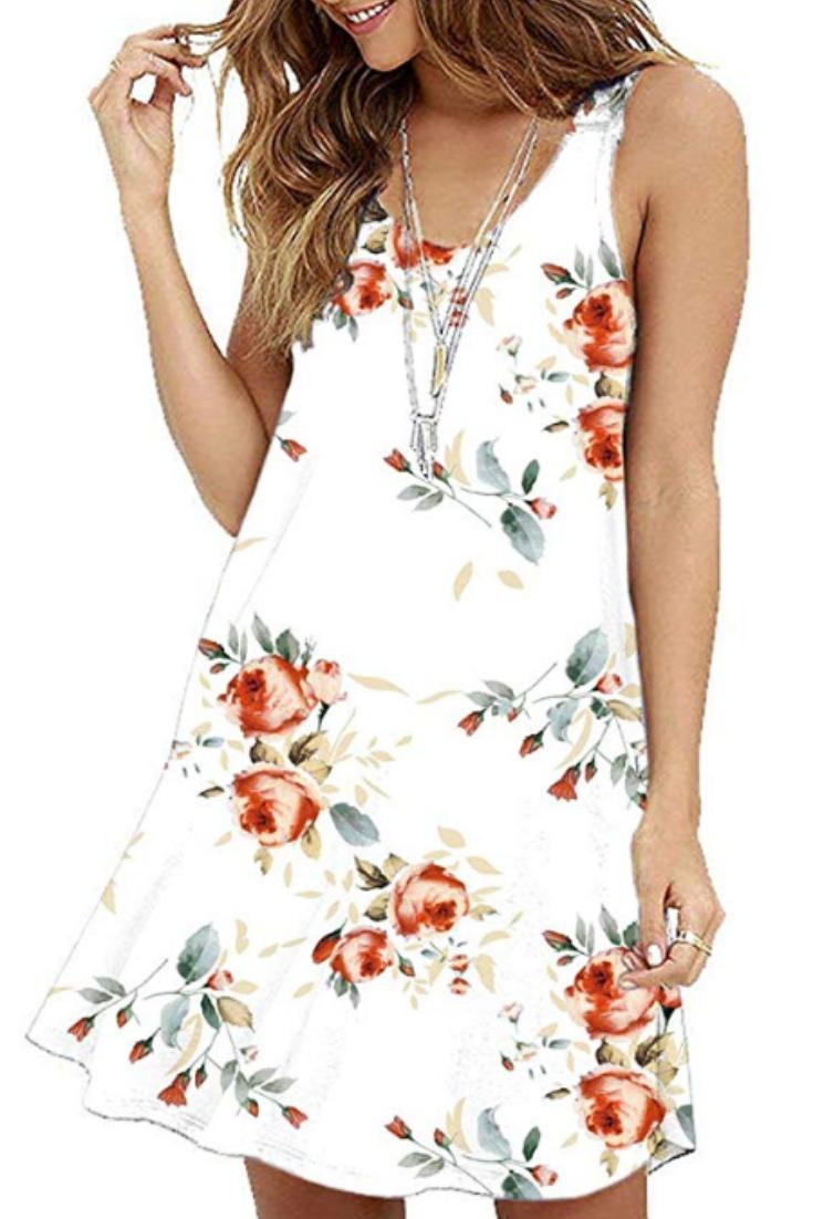 Cute Summer Dress Short Dresses Casual Plain Dress Casual Long Sleeve Swing Dress [ 1102 x 735 Pixel ]