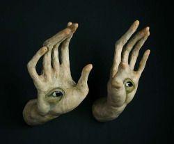 art eyes creepy hands strange surrealism surreal scott occult radke scott radke