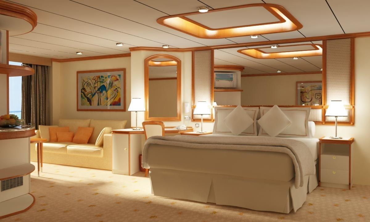 Beautiful Cruise Ship Suit Creative Houses Cruise Ship