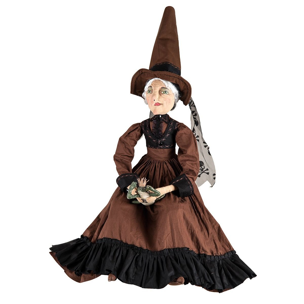 Myrtle Witch with Frog Prince | Witches, Frogs and Dolls