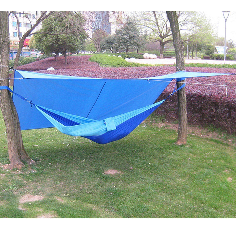 C&ing Tents  HMLifestyle-Sunshade Waterproof Hammock Rain Tarp for C&ing Tent Rain Fly & Camping Tents :