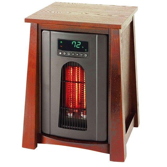 Lifesmart Lifepro 8 Element Infrared Quartz Heater Infrared Heater Air Ionizer Heater