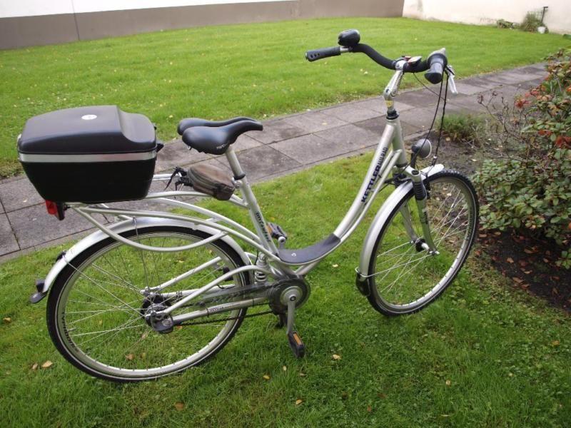 Ich verkaufe das Kettler Alu-Rad City Comfort mit Kettcom ...