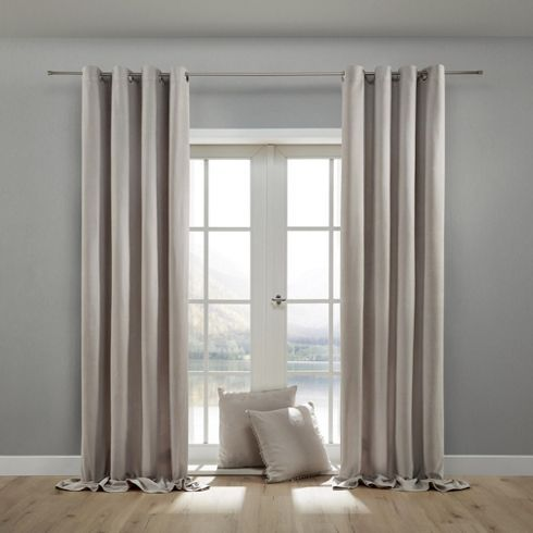 Ösenvorhang aus Samt wohnliches Ambiente mit Stil! Vorhänge