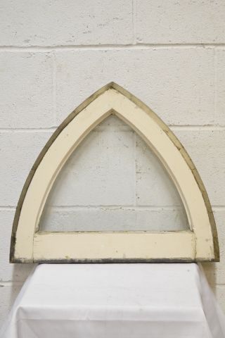 Salvaged Gothic Window Sash - Columbus Architectural Salvage