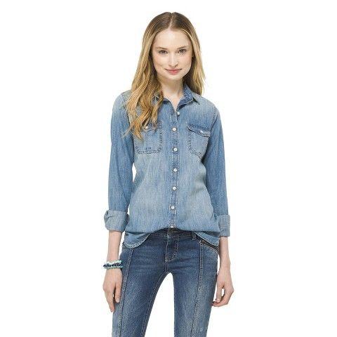 ba268d2c4f2 Denim Button Down Shirt - Mossimo Supply Co.