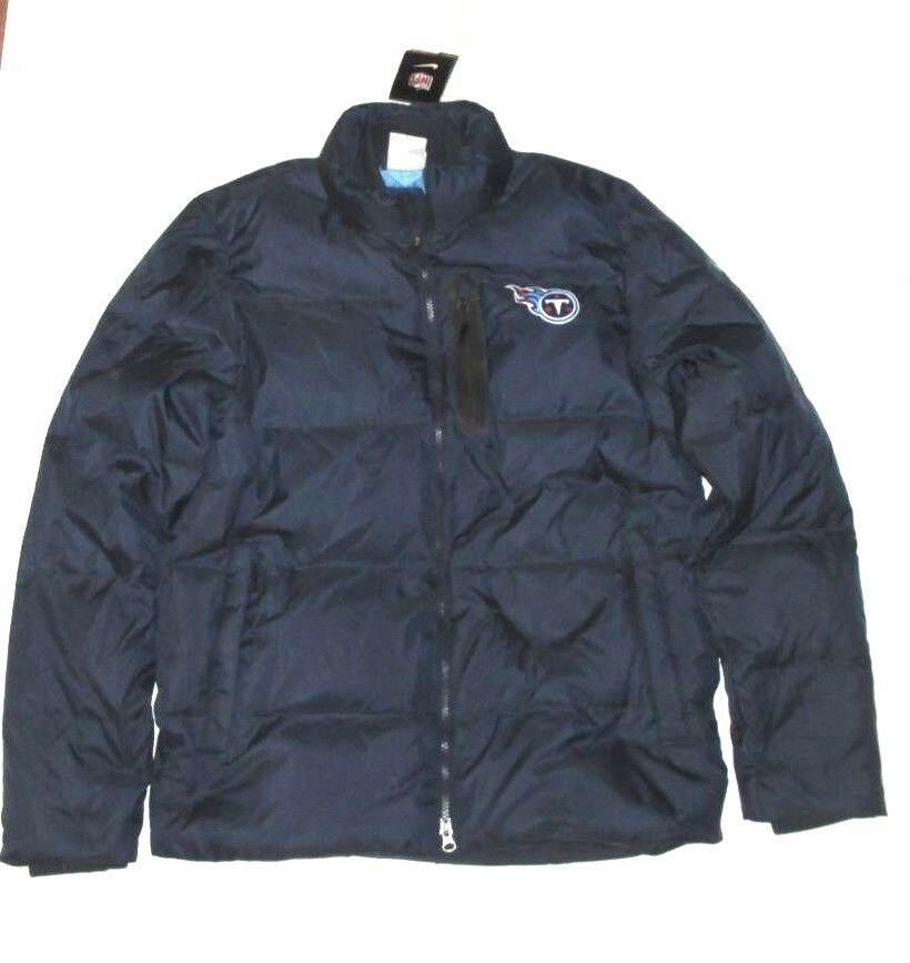 cheap for discount bf13c 3512b Nike Tennessee Titans Puffer Jacket Mens M Navy 484059 419 ...