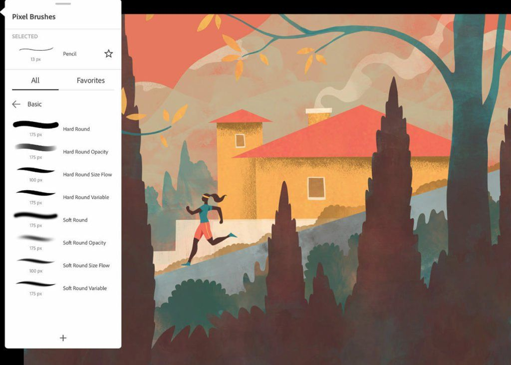 Adobe Fresco Is A Drawing And Painting App For Everyone Fresco