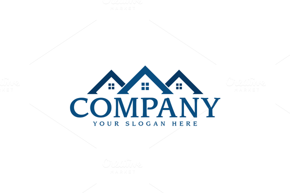 Real Estate Logo | Real estate logo, Logo templates and Logos