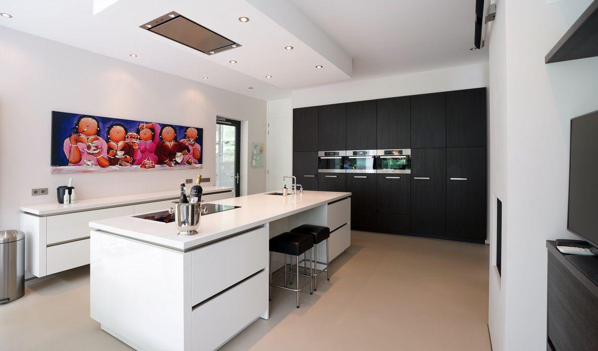 Minimalistisch interieur rvs arclinea keuken in keuken rvs keuken