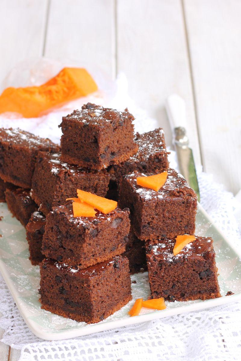 Torta Zucca E Cioccolato Senza Burro Ricetta Torta Con Zucca