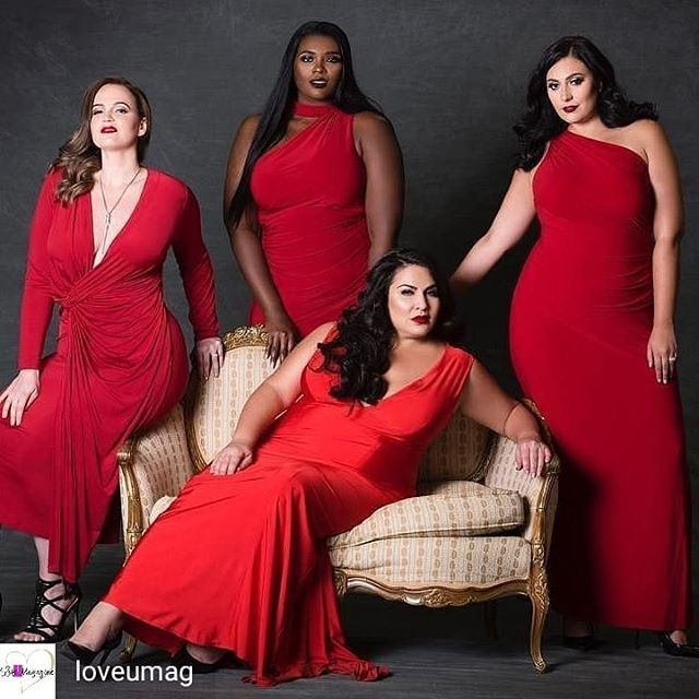 609b0b1c14 Red, red, red: Four different kinds of dresses, one color | Plus Size  Fashion & Evening Wear