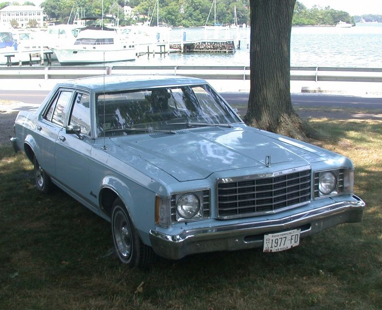 1977 Ford Granada Light Blue Ford Granada Old American Cars