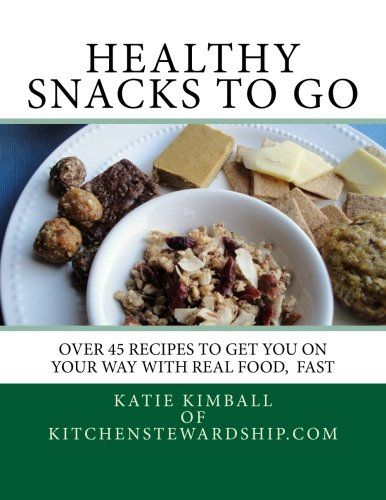 Love this book! The recipes are healthy, but also delicious. I went to Trader Joe's and found most of the ingredients necessary for the granola, the almond, and the protein bars. Made them all at the same time and now we have a good supply of healthy snacks. The author has a great sense of humor which makes the book a fun read. Very happy with this purchase!