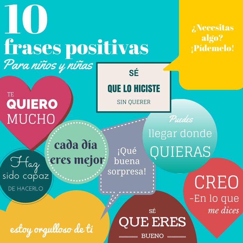 Blogscouter Imágenes 10 Frases Positivas Para Niños Y
