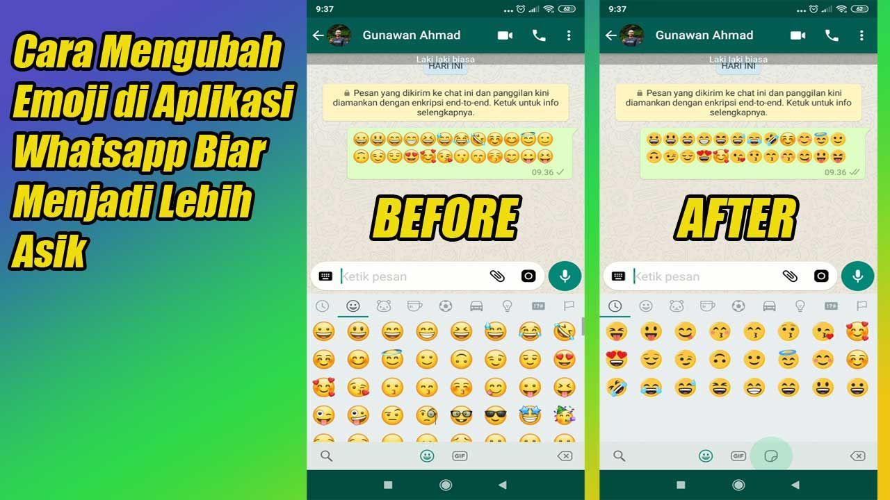 Cara Mengubah Emoji Di Aplikasi Whatsapp Biar Menjadi Lebih Asik