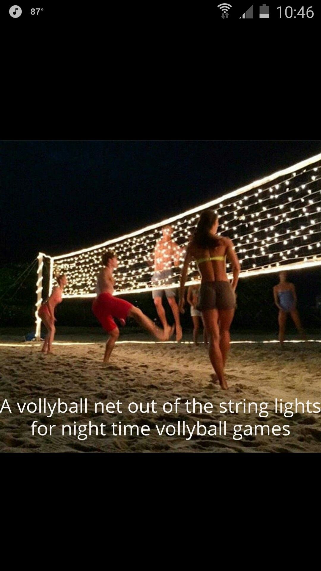 Game Over When All The Lights Are Smashed Fun For All The People On The Beach The Next Day Summer Diy Projects Summer Diy Fun Summer Crafts