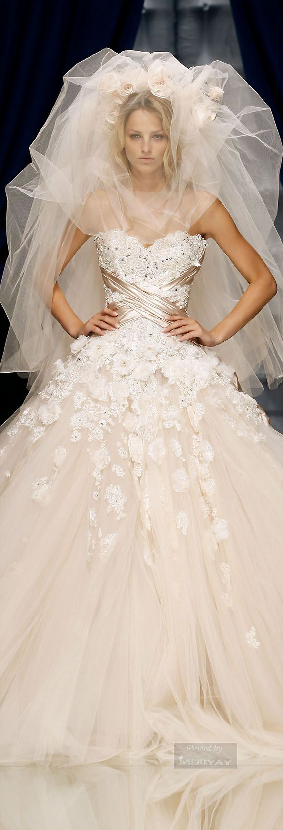 Zuhair murad bridal dress wishes pinterest zuhair murad