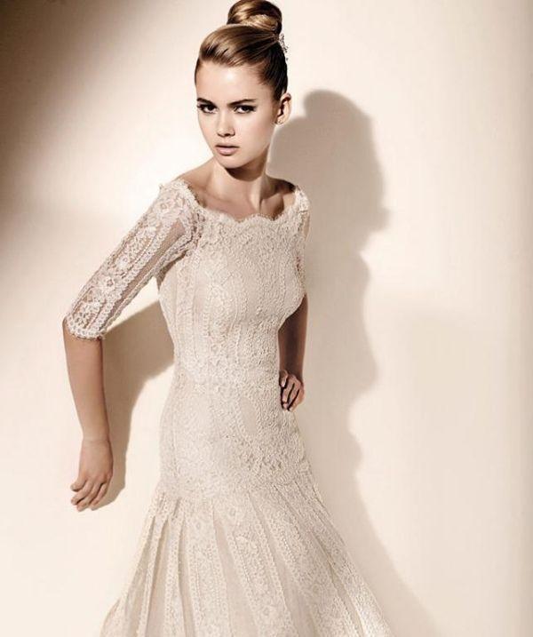 Bildergebnis für brautkleid vintage   Braut   Pinterest   Brautkleid ...