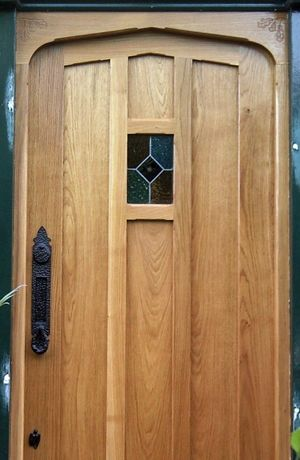 traditional solid oak front doors - Google Search | 門 | Pinterest ...