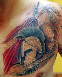 The seventh of my tattoos of movies is this mindblowing Gladiator tattoo.