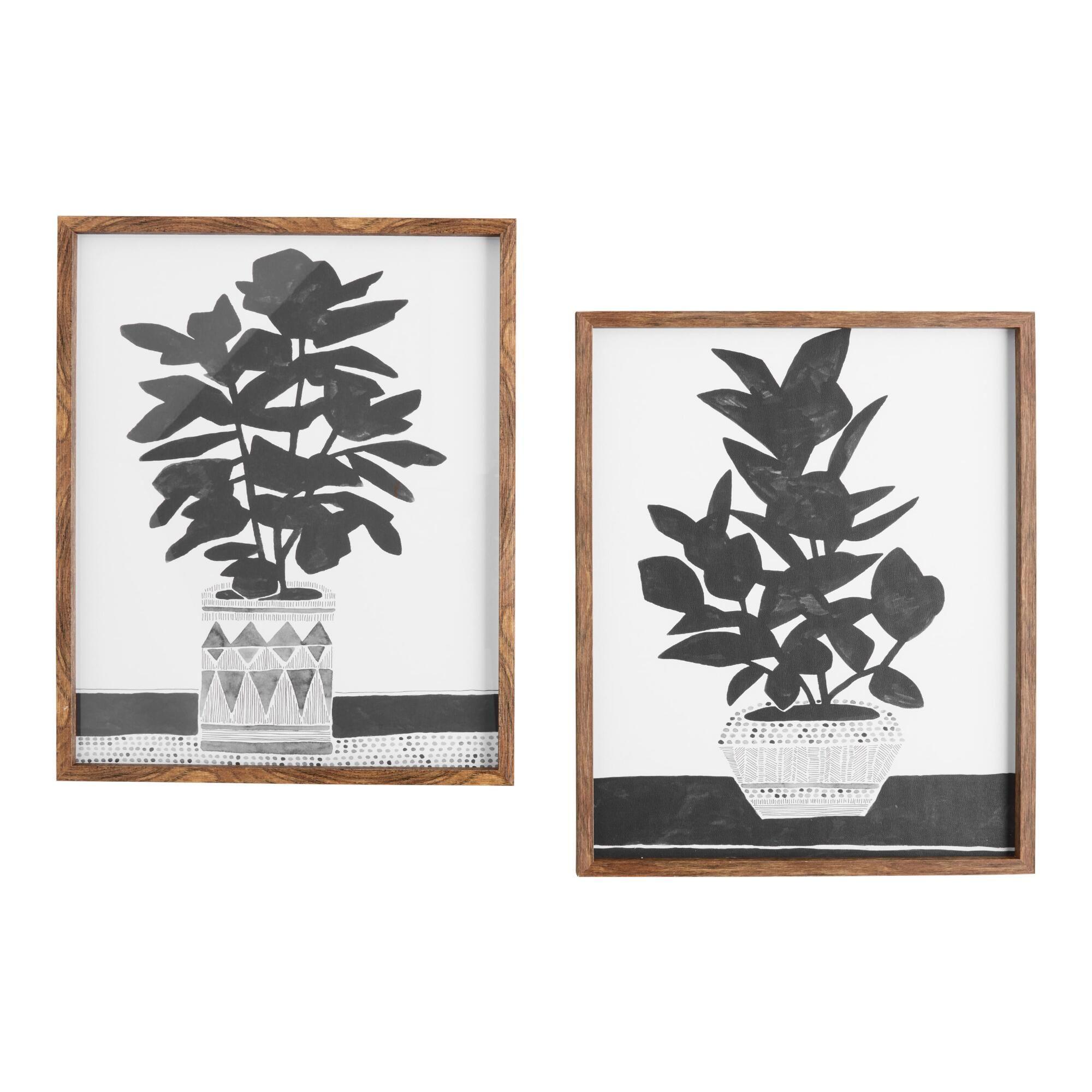 Namos Planted By Kristine Hegre Framed Wall Art Set Of 2 In 2020 Framed Wall Art Sets Wall Art Sets Framed Wall Art