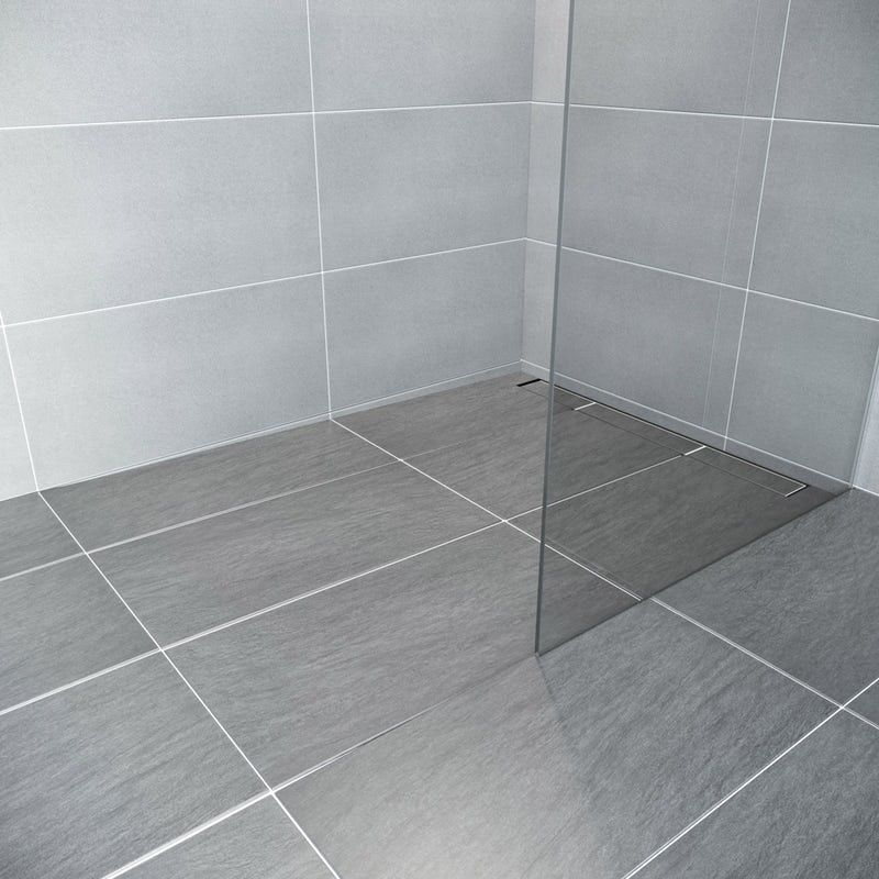 Mode Single Fall Left Handed Wet Room Shower Tray Former And