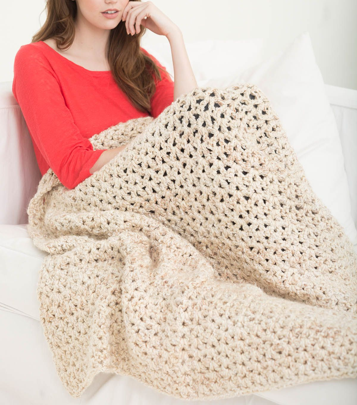 How to Crochet A 5 ½ Hour Neutral Tones Afghan | Knit & Crochet ...