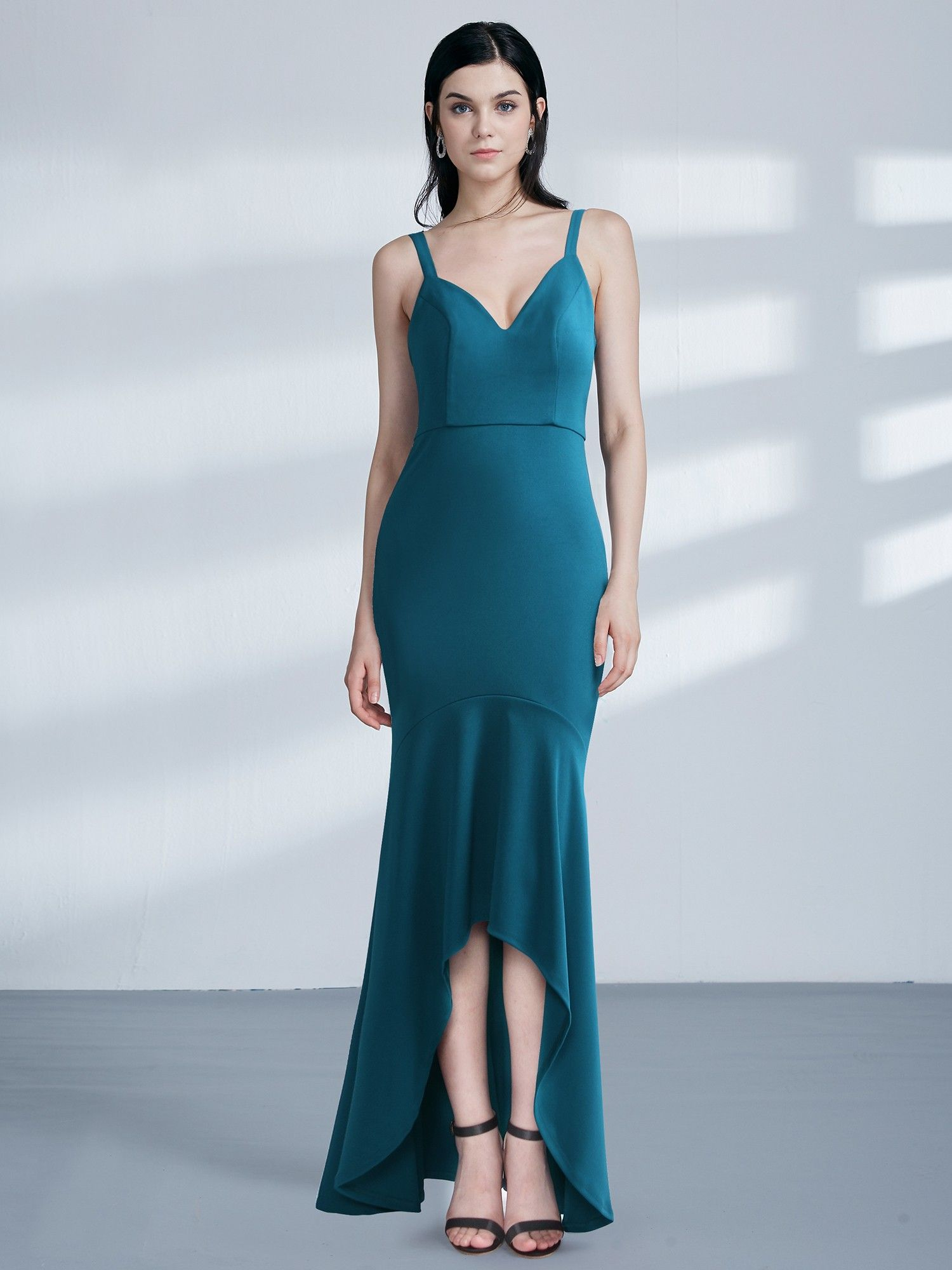 519b963db9a High Low Body Con Evening Party Dress in Evening Dresses