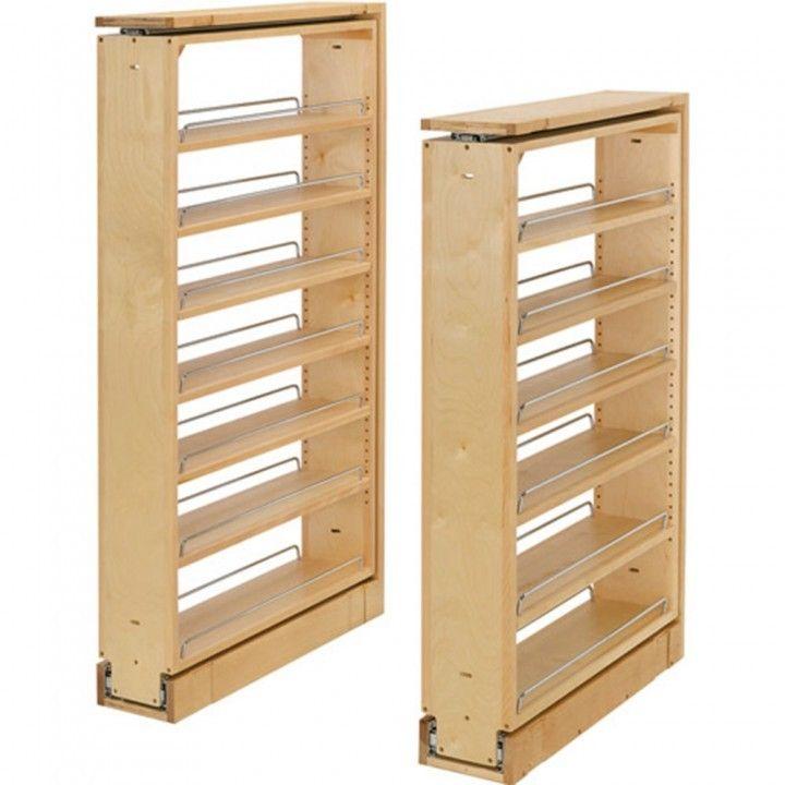 Diy Slide Out Shelves Diy Pull Out Pantry Shelves More