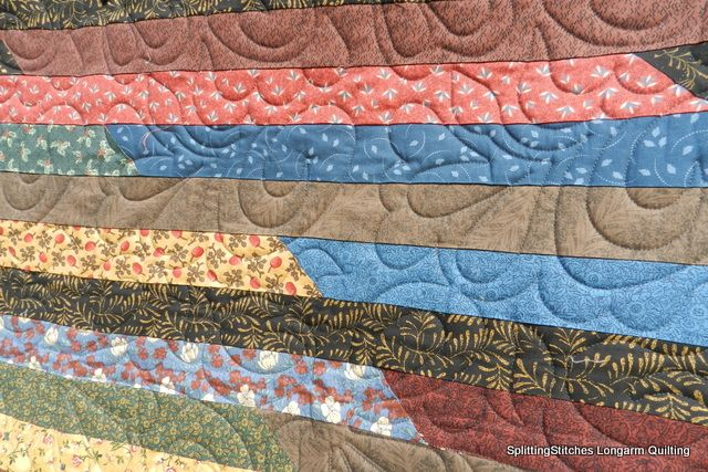 Betty Lou's Jelly Roll #2 Quilting- love it!