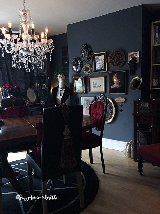 A Victorian Gothic Dining Room Makeover The Witch At