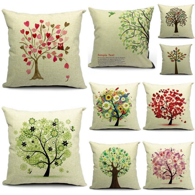 Details About Novelty Flower Hearts Tree Home Sofa Decorative