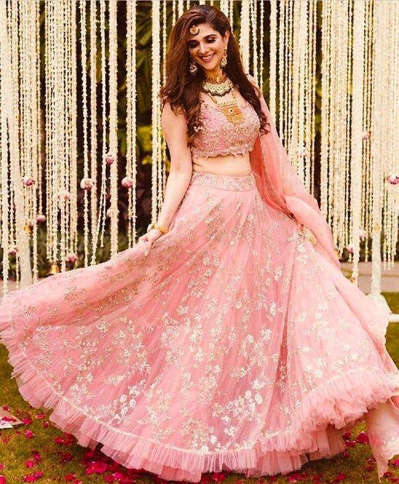 Indian Pakistan wedding lehenga choli bridesmaids dress Formal Ghagra choli chaniya choli bridal lehenga designer lehenga