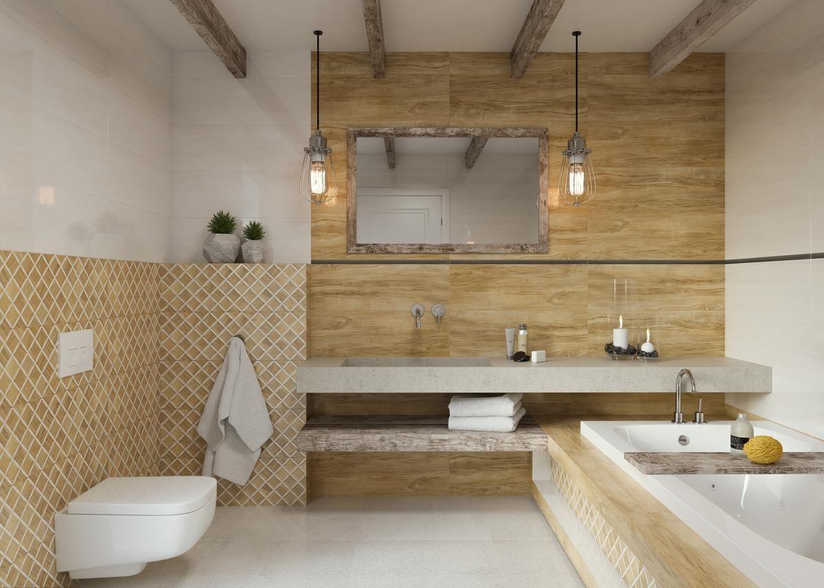Paradyż Miracle łazienka Naturalnie Piękna Blu Salony