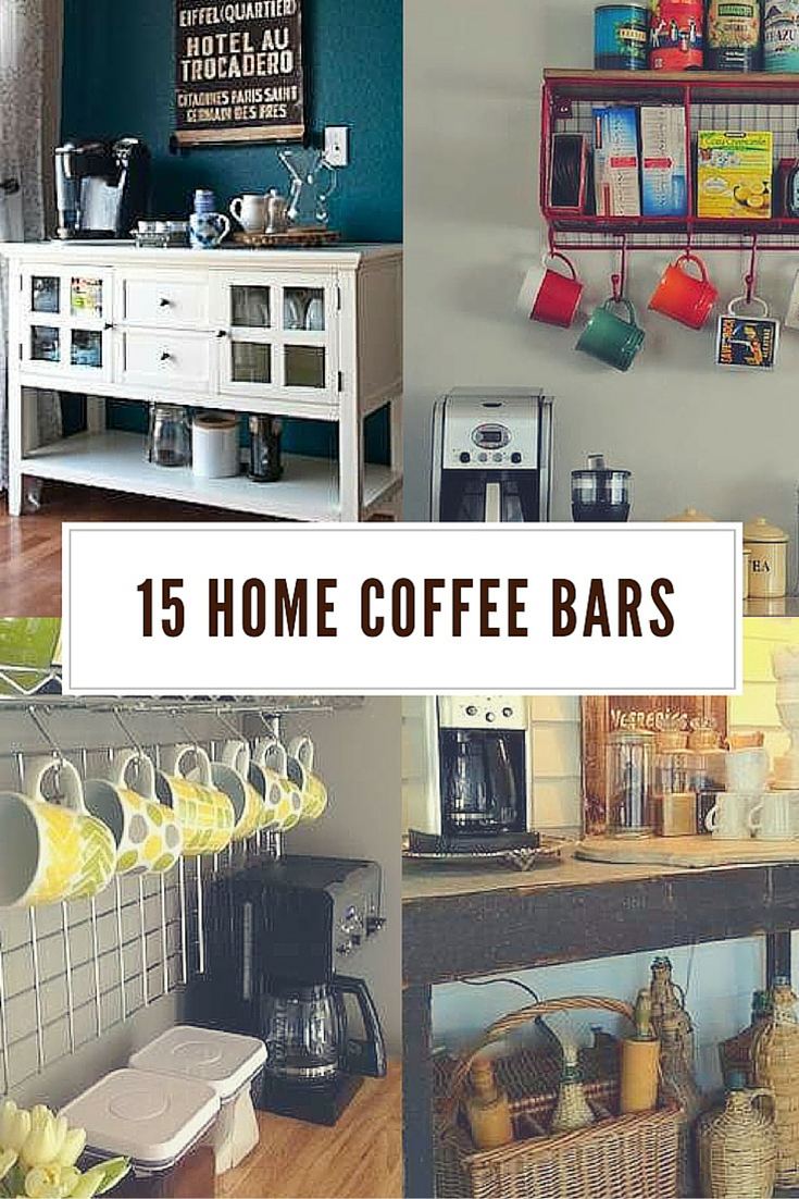 Bar Design Pour Maison 30 coffee bars to put pep in your home design | maison, casa