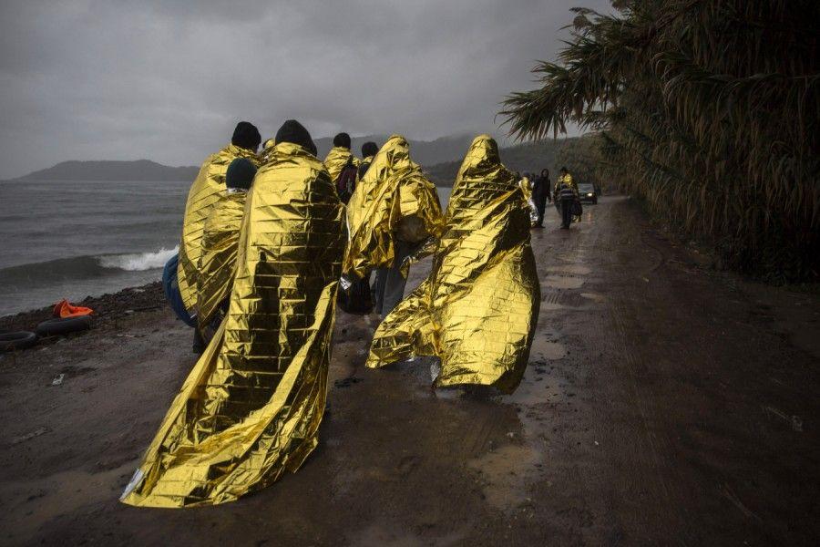 Für die Flüchtlinge auf der Balkanroute wird die Situation schwieriger: Die Temperaturen sinken vielfach fast auf den Gefrierpunkt.