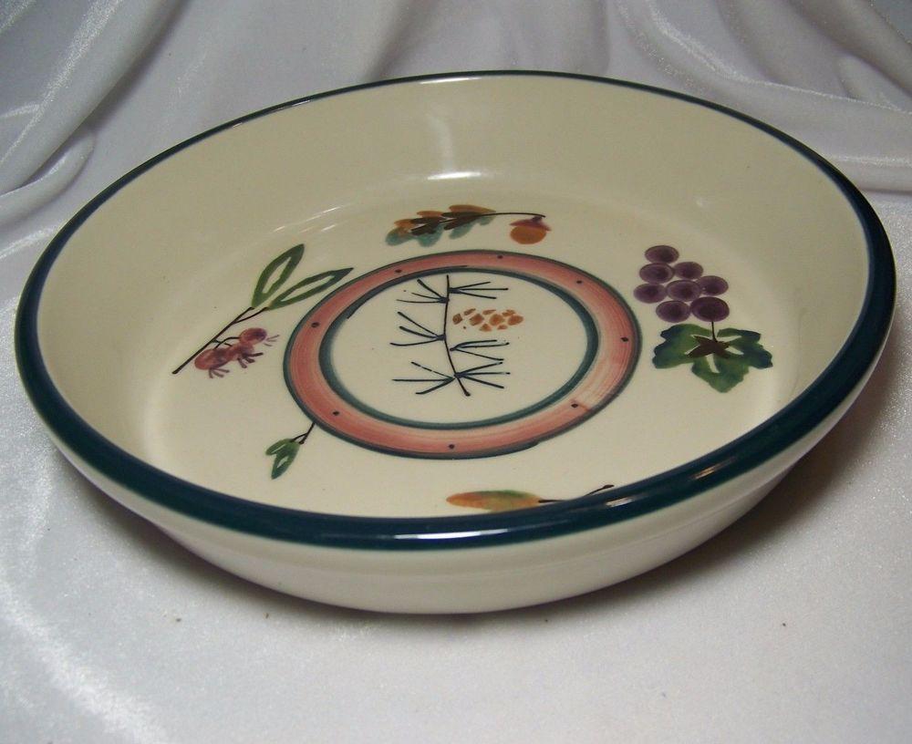 Hartstone Woodland Pie Plate Serving Bowl Quiche Baking Casserole Pine Cone Leaf & Hartstone Woodland Pie Plate Serving Bowl Quiche Baking Casserole ...