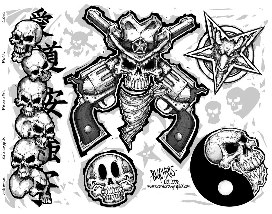 image about Free Printable Tattoo Flash identify Pin as a result of Trigun Tat upon Types Flash artwork, Tattoo flash artwork