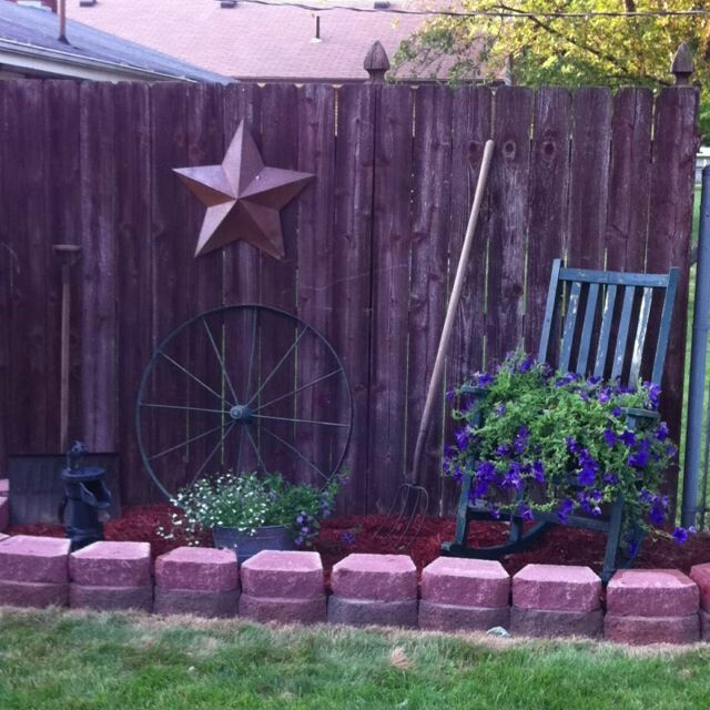 Corner Floral Garden Area: Garden Yard Ideas, Garden Landscaping
