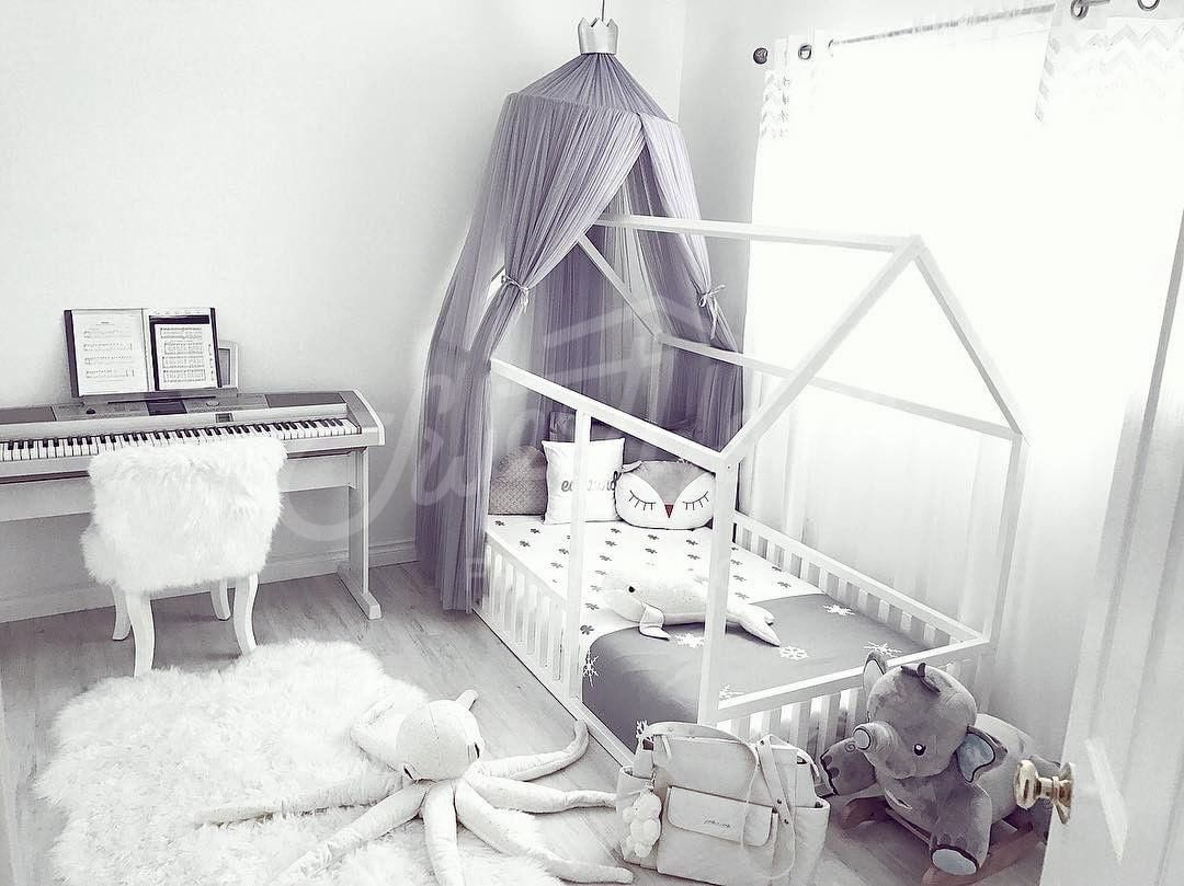 Scandinavian Design Baby Room Interior Baby Bed Or