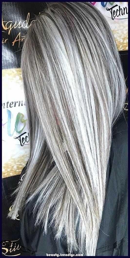 Shatush grigio sui capelli neri: pro/contro e mantenimento ...