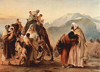 "Esau Biblical Figure | THE SLUSHPILE: Genesis 49: Jacob ""Blesses"" His Sons"