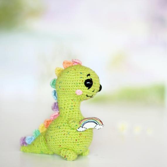 PATTERN crochet DINOSAUR pdf tutorial how crochet dinosaur pattern trex pdf crochet dino pattern dinosaur toy crochet trex pattern #crochetdinosaurpatterns