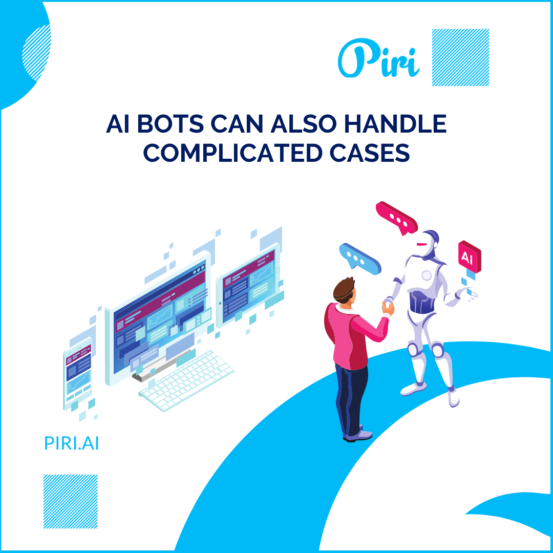 Ai Bots Can Also Handle Complicated Cases Ai Bot Complicated Case