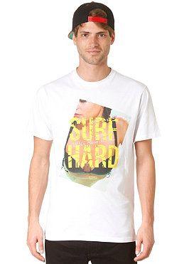 EZEKIEL Surf Hard Slim S/S T-Shirt white