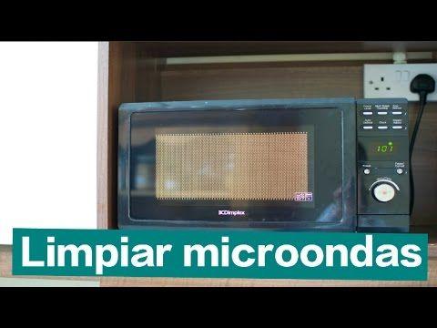 C mo limpiar microondas r pido y f cil tips de limpieza del hogar y colada pinterest - Como limpiar rapido ...
