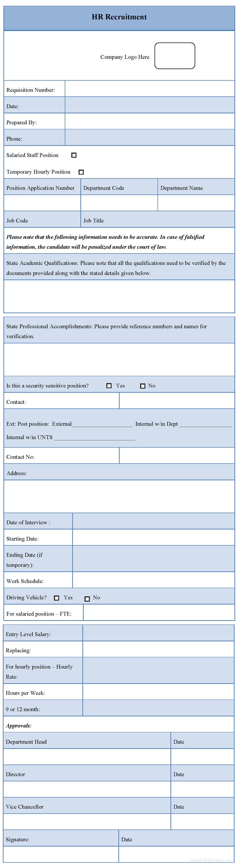 HrRecruitmentFormPng   Recruiter Forms